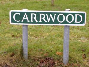 Carrwood sign 2011